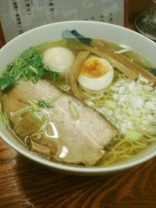 和風柚子柳麺・(有楽町ひょっとこ)
